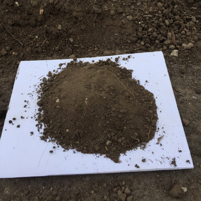 Screened Topsoil and Manure Mix